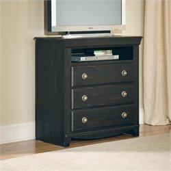 Standard Furniture Carlsbad TV Chest in Dark Espresso Finish