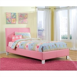 Standard Furniture Fantasia Bed in Pink - Twin