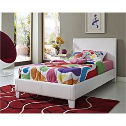 Standard Furniture Fantasia Bed in White - Twin