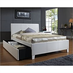 Standard Furniture Fantasia Bed with Trundle in White - Twin