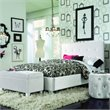 Standard Furniture Young Parisian Bed in White