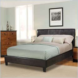 Standard Furniture New York Upholstered Bed in Brown - Twin