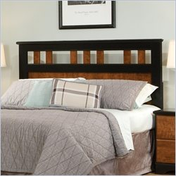 Standard Furniture Steelwood Headboard in Oak and Cherry - Full