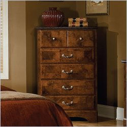 Standard Furniture San Miguel 5 Drawer Chest in Oak and Olive Ash