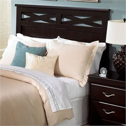 Standard Furniture Crossroads Queen Panel Headboard in Cherry