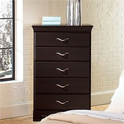 Standard Furniture Crossroads 5 Drawer Chest in Cherry Finish