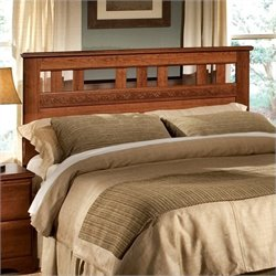 Standard Furniture Orchard Park Headboard in Cherry Star - Twin