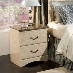 Standard Furniture Florence Nightstand in Jura Block