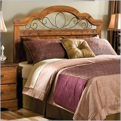 Standard Furniture Hester Heights Queen Headboard in Dark Wood