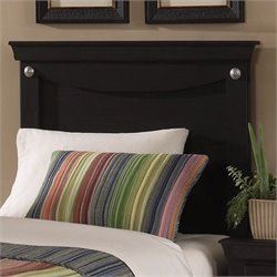Standard Carlsbad Youth Panel Twin Headboard in Espresso