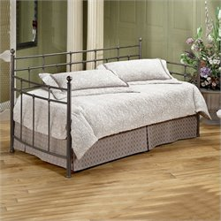 Hillsdale Providence Metal Daybed in Antique Bronze Finish with Suspension Deck - Daybed only