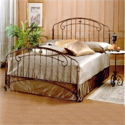 Hillsdale Tierra Mar Metal Panel Bed in Desert Tan Finish - Twin