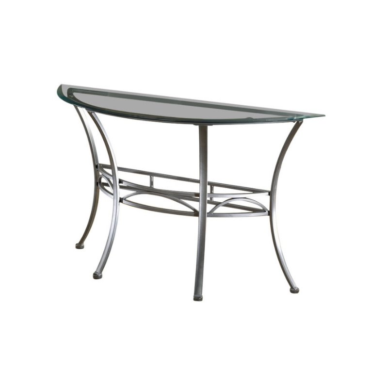 Hillsdale Abbington Console/Sofa Table with Glass Top