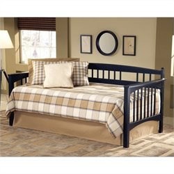 Hillsdale Mission Daybed in Black Finish with Trundle