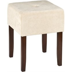Hillsdale Bellamy Vanity Stool in Brown