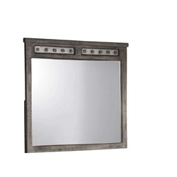 Hillsdale Bolt Mirror in Light Graywash