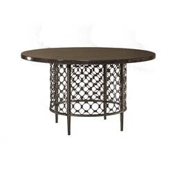 Brescello Dining Table in Charcoal