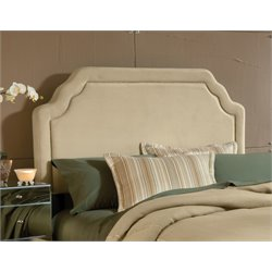Hillsdale Carlyle Upholstered Queen Panel Headboard in Beige