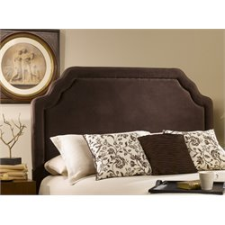 Hillsdale Carlyle Upholstered King Panel Headboard in Brown