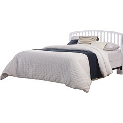 Hillsdale Carolina Full Queen Spindle Headboard in White
