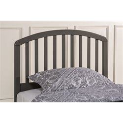 Hillsdale Carolina Full Queen Spindle Headboard in Stone