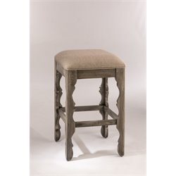 Hillsdale Carrara Bar Stool in Graywash