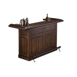 Hillsdale Chiswick Home Bar in Brown Cherry