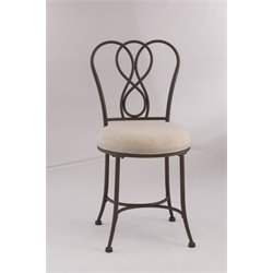 Hillsdale Christina Vanity Chair in Bronze