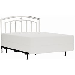 Hillsdale Claudia Full Queen Spindle Headboard in Matte Nickel