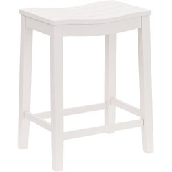 Fiddler Bar Stool in White