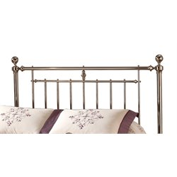 Holland Headboard in Shiny Nickel