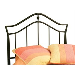 Hillsdale Imperial Twin Spindle Headboard in Twinkle Black