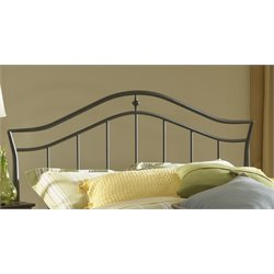 Hillsdale Imperial King Spindle Headboard in Twinkle Black