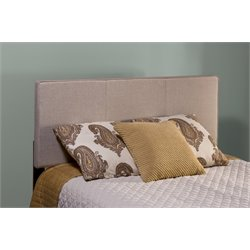Hillsdale Isabella Upholstered Full Queen Panel Headboard in Cream