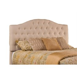 Hillsdale Jamie Upholstered Queen Panel Headboard in Beige