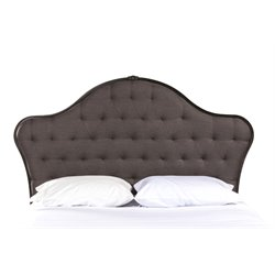 Jefferson Upholstered Headboard in Old Black (2)