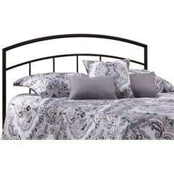 Hillsdale Julien King Spindle Headboard in Textured Black