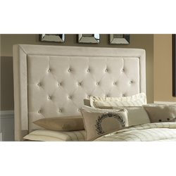 Hillsdale Kaylie Upholstered Queen Panel Headboard in Beige