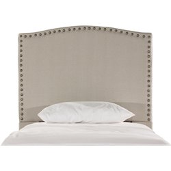 Kerstein Upholstered Headboard in Dove Gray