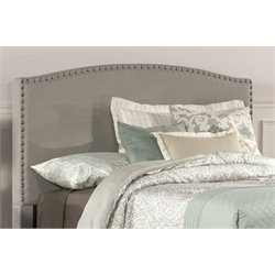Hillsdale Kerstein Upholstered Full Panel Headboard in Dove Gray