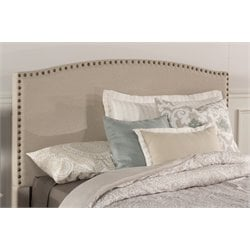 Hillsdale Kerstein Upholstered Twin Panel Headboard in Light Taupe