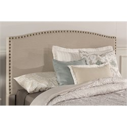 Kerstein Upholstered Headboard in Light Taupe (2)