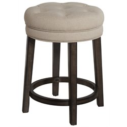 Krauss Swivel Bar Stool in Charcoal Gray