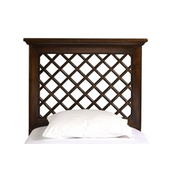 Hillsdale Kuri Full Queen Panel Headboard in Light Walnut