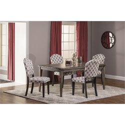 Lorient Dining Set in Washed Charcoal Gray (2)