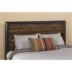 Hillsdale Mackinac Queen Panel Headboard in Old Black