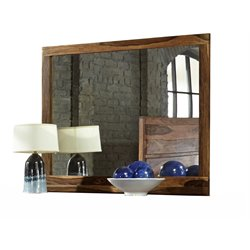 Hillsdale Madera Landscape Mirror in Natural