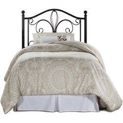 Hillsdale Milwaukee Twin Poster Headboard in Antique Brown