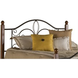 Milwaukee Full Queen Headboard in Textured Black
