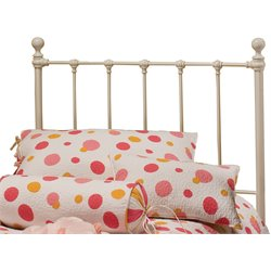 Hillsdale Molly Twin Spindle Headboard in White